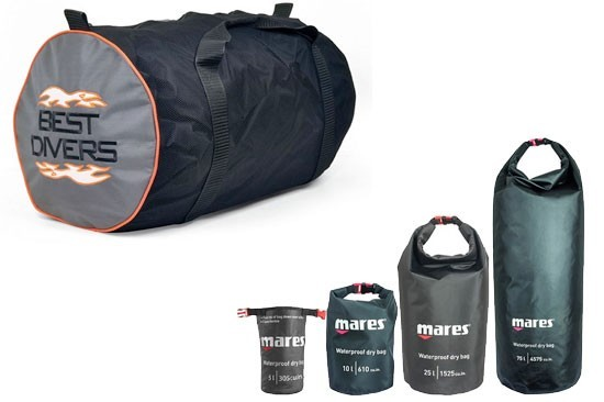 Dive bags - backpacks - accessories