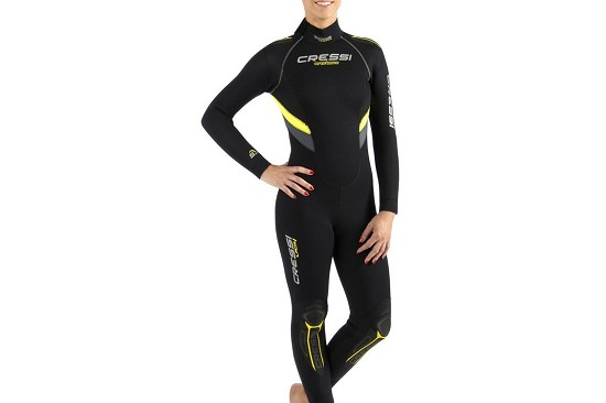 Wetsuits - semidrysuits