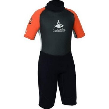 Capitano Nemo Wetsuit Aqua Lung By Technisub Shorty 3 mm Baby