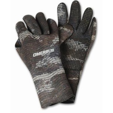 Omer Brown Mimetic Gloves