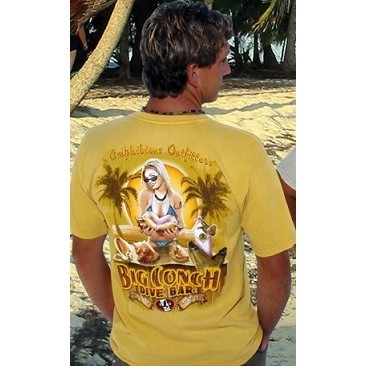 T-Shirt Amphibious Big Conch