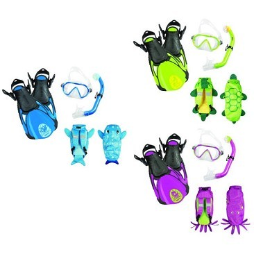 Set Sea Friends kids Mares Snorkeling
