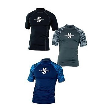 Undershirts Scubapro MAN Rash Guards short sleeves