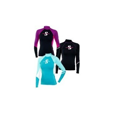 Undersuit Scubapro WOMAN Rash Guard T-Flex long sleeve