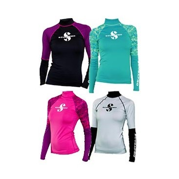 Scubapro WOMAN Rash Guards long sleeves