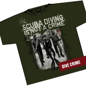 T-Shirt Amphibious Dive Crime