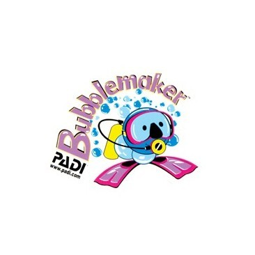 Bubblemaker Decal PADI