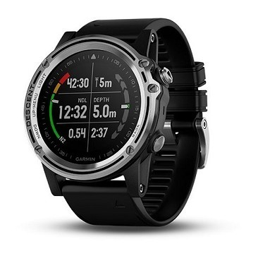 Garmin Descent Mk1 Steel + silicone strap