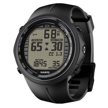 Suunto DX black elastomer Computer + USB