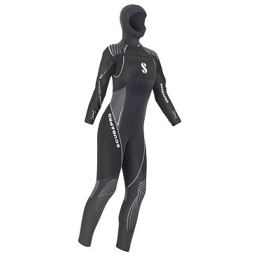 Wet Suits Scubapro Definition 7mm HD & Front Zip - Woman