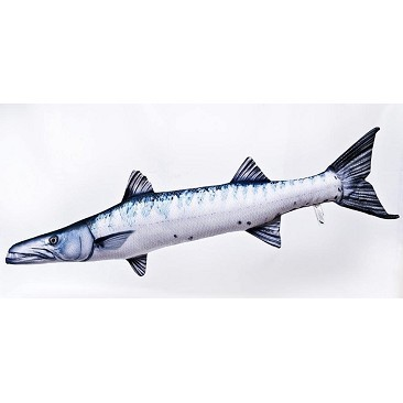 Barracuda Fish Pillow